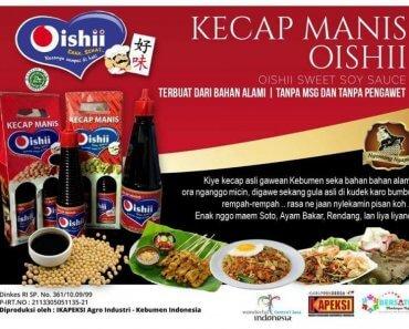 Kecap Oishii Enak